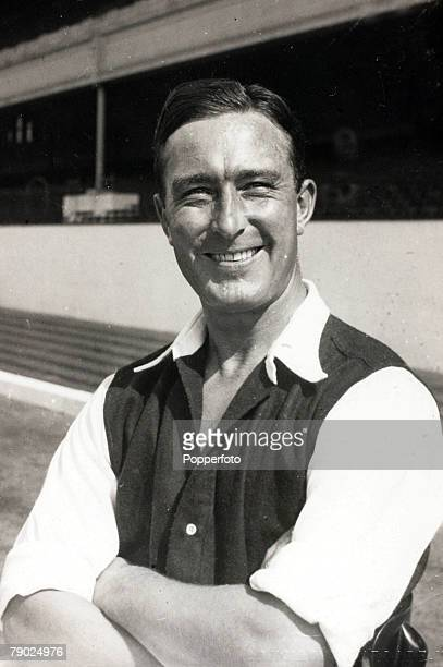 Sport Football circa 1950 Denis Compton Arsenal A member of the 1950 Arsenal FA Cup winning team