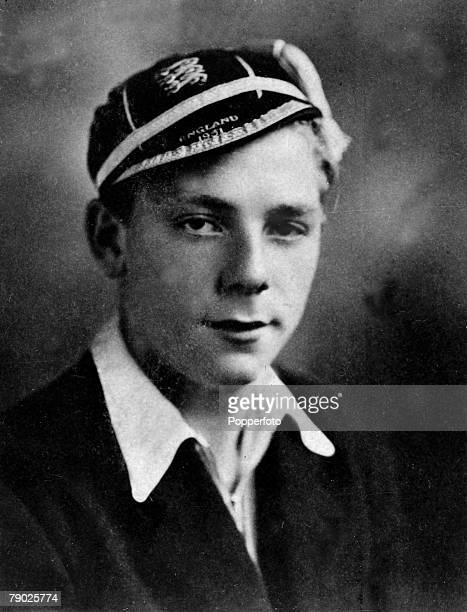 Sport Football circa 1951 Duncan Edwards pictured wearing an England Schoolboys cap Duncan Edwards signed for Manchester United and was in the first...