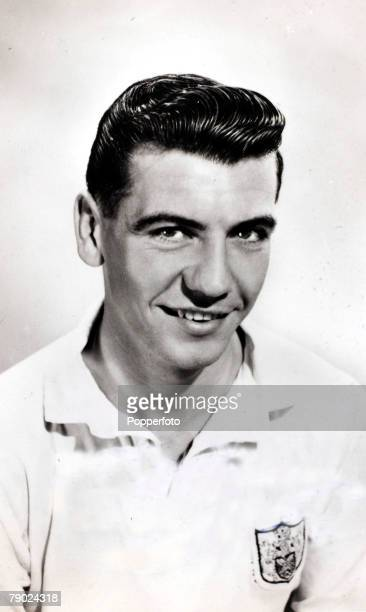 Sport Football circa 1955 Johnny Haynes Fulham who made 56 international appearances for England