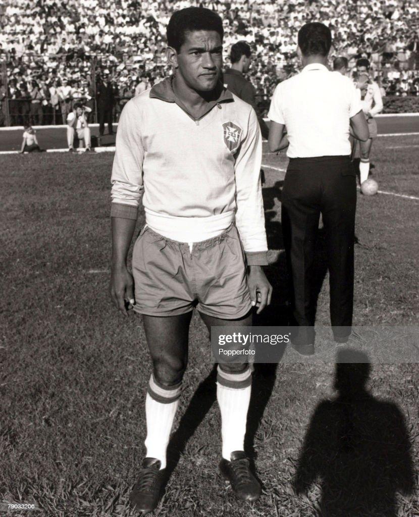 Sport Football circa 1962 Brazil star Garrincha who played 60