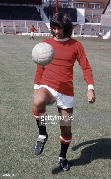 Sport Football Circa 1969 George Best of Manchester United