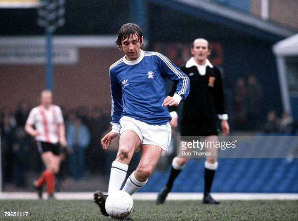 Sport Football Circa 1970's Birmingham City's Jimmy Calderwood