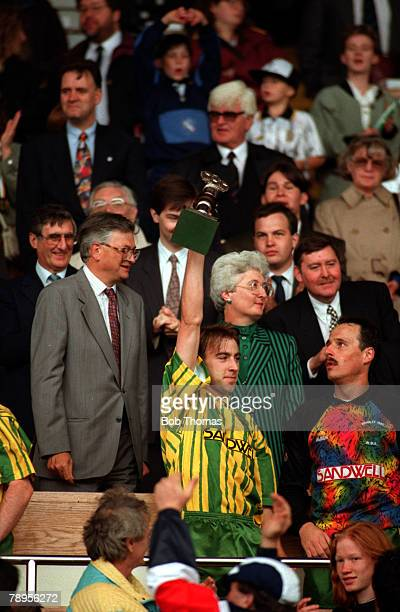 Sport Football Division Two PlayOff Final Wembley London England 30th May 1993 West Bromwich Albion 3 v Port Vale 0 West Bromwich Albion's Kevin...