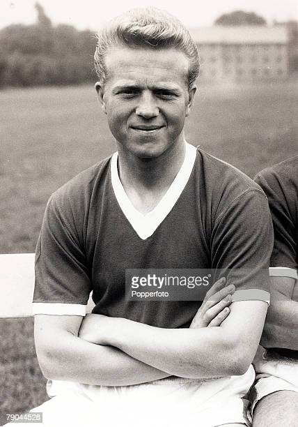 Sport Football England 4th August 1960 Albert Quixhall Manchester United who made 183 appearances for the club 19581964 He was bought shortly after...