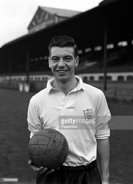 Sport Football England A portrait of Fulham FC's Johnny Haynes