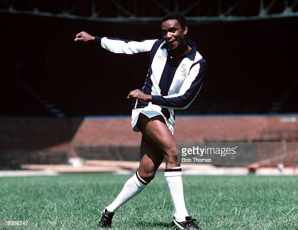 Sport Football England Circa 1980 West Bromwich Albion's Laurie Cunningham