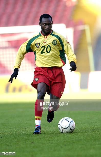 Sport Football FIFA 2002 World Cup Preview Cameroon's Salomon Olembe