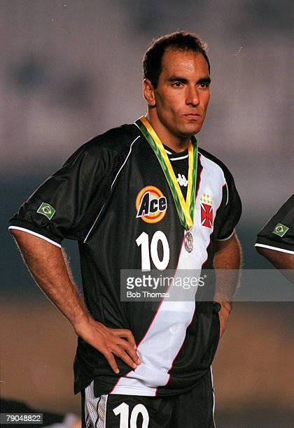 Sport Football FIFA Club World Championships Final Rio De Janeiro Brazil 14th January Corinthians 0 v Vasco Da Gama 0 Vasco Da Gama's Edmundo stands...