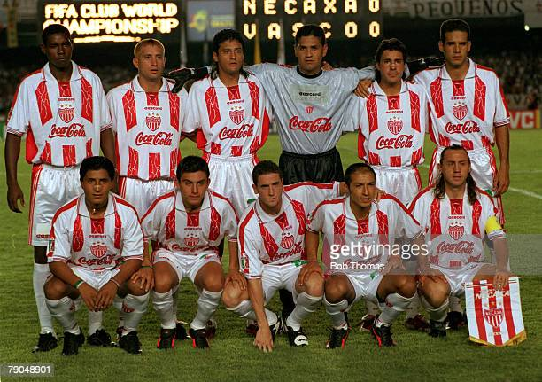 Sport Football FIFA Club World Championships Rio De Janeiro Brazil 11th January Vasco Da Gama 2 v Necaxa 1 The Necaxa team pose for a group...