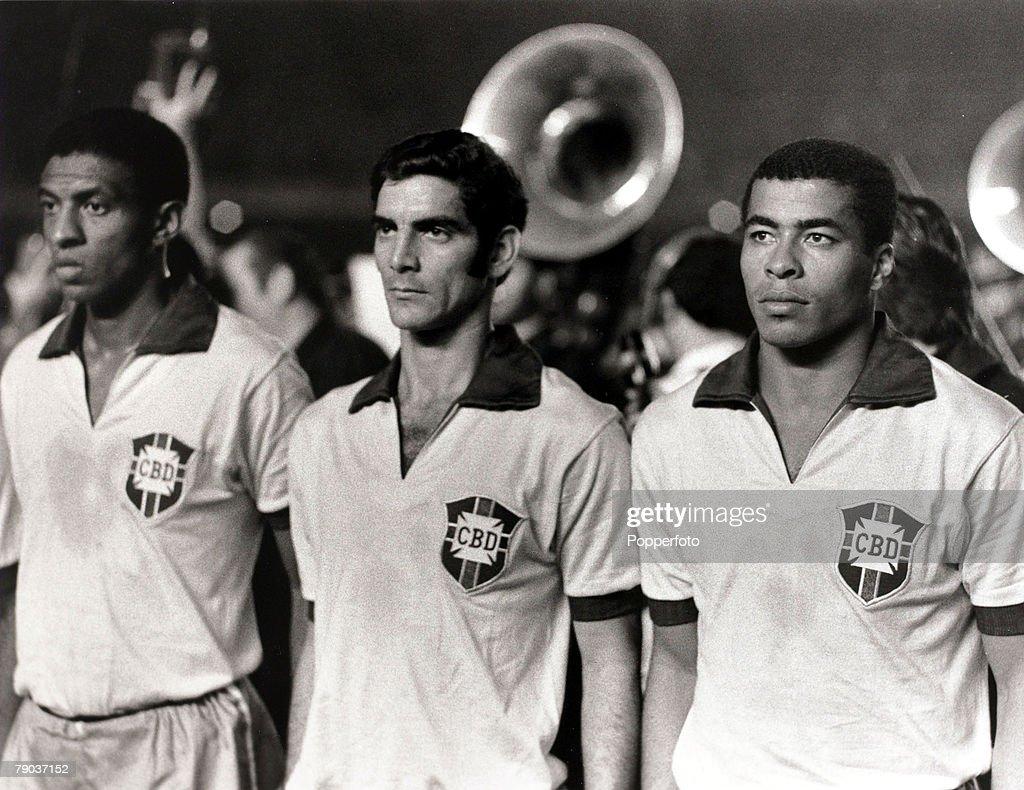 Sport Football International Match 1969 Brazil v Colombia