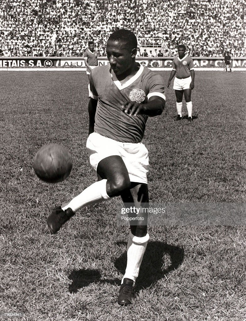 Sport Football January 1966 Brazil star Djalma Santos pictured