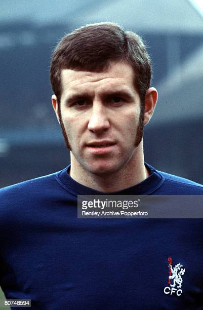 Sport Football January 1970 A portrait of Peter Osgood of Chelsea FC