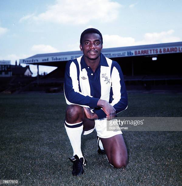 Sport Football Laurie Cunningham of West Bromwich Albion Circa 1977