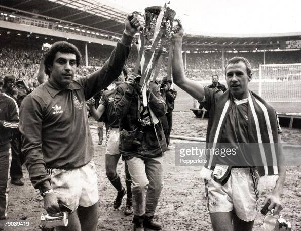 Sport Football League Cup Final Wembley London England 17th March 1979 Nottingham Forest 3 v Southampton 2 Nottingham Forest's Peter Shilton and...