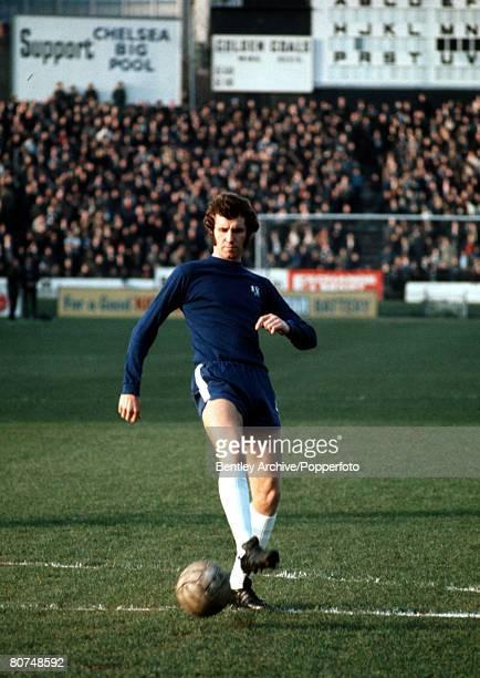 Sport Football League Division One Stamford Bridge London England 5th December 1970 Chelsea v Newcastle United Chelsea's Peter Osgood
