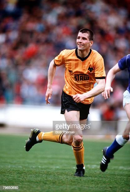 Sport Football League Mercantile Credit Centenary Festival Wembley 16th17th April 1988 First Phase Everton 1 v Wolverhampton Wanderers 1 Steve Bull...