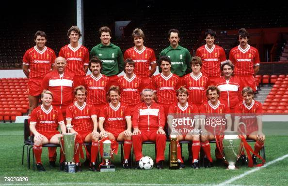 Sport football liverpool fc team group 1984 85 season for League two table 1984 85