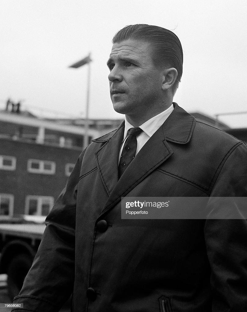 Sport Football London England 16th April 1962 Ferenc Puskas
