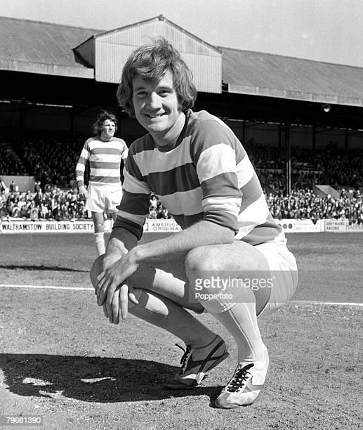 Sport Football London England 21st April 1971 Rodney Marsh of Queens Park Rangers