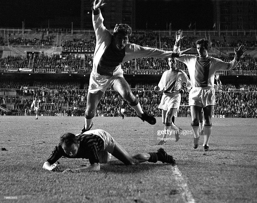 Sport Football Madrid Spain 29th May 1969 European Cup Final