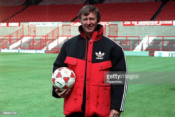 Sport Football Old Trafford England August 1988 Manchester United Manager Alex Ferguson