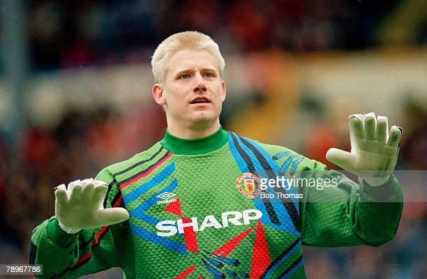 10th April 1994 FA Cup Final SemiFinal Manchester United 1 v Charlton Athletic 1 aet Peter Schmeichel Manchester United goalkeeper Peter Schmeichel...