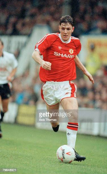 10th November 1990 Division 1 Derby County 0 v Manchester United 0 Lee Sharpe Manchester United 19881996 who also won 8 England international caps...