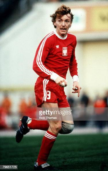 10th October 1981 World Cup Qualifier Leipzig East Germany 2 v Poland 3 Zbigniew Boniek Poland