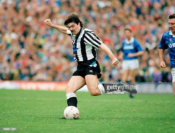 10th October 1992 Division 1 Newcastle United 1 v Tranmere Rovers 0 Mick Quinn Newcastle United 19891992