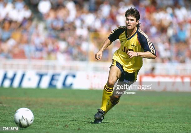 11th August 1990 The Makita International at Wembley Sampdoria 1 v Arsenal 0 Anders Limpar Arsenal and Sweden