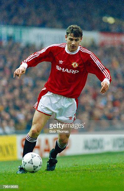 11th January 1992 Division 1 Andrei Kanchelskis Manchester United