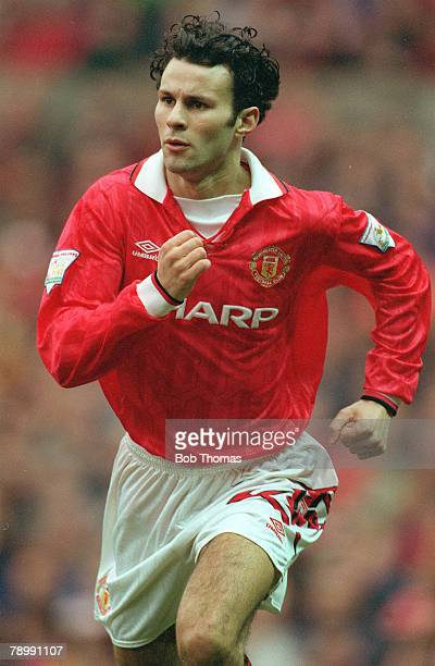 12th March 1994 Ryan Giggs Manchester United