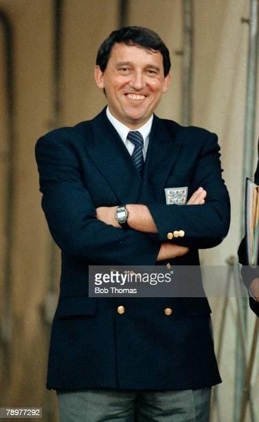 12th September 1990 Friendly International at Wembley England 1 v Hungary 0 England Manager Graham Taylor
