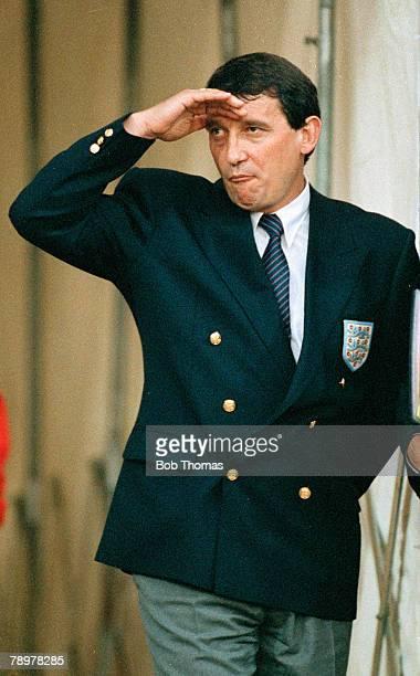 12th September 1990 Friendly International at Wembley England 1 v Hungary 0 England Manager Graham Taylor Graham Taylor was the England Manager...