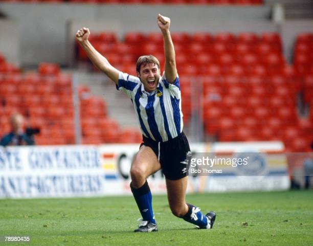 12th September 1992 Premier League Paul Warhurst Sheffield Wednesday 19911993who operated both as a defender and striker one of the journeymen of...