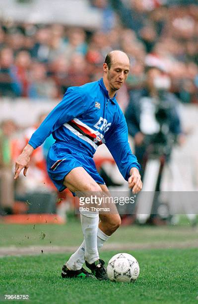 13th March 1994 Serie A AC Milan 1 v Sampdoria 0 Attilio Lombardo Sampdoria