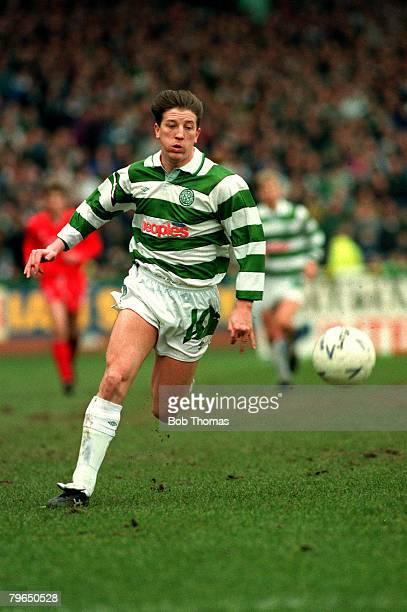 14th March 1992 Scottish Premier Division Celticv Aberdeen Gerry Creaney Celtic