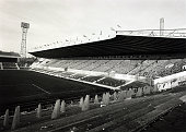15th February 1966 A general view of Old Trafford the home of Manchester United wher 3 Group 3 matches in the 1966 World Cup Finals were to be played