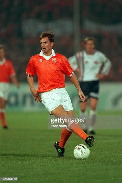 15th November 1995 European Championship Qualifier Holland 3 v Norway 0 Ronald de Boer Holland