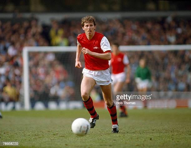 16th April 1983 FA Cup SemiFinal at Villa Park Manchester United 2 v Arsenal 1 Vladimir Petrovic Arsenal