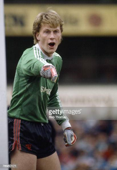 16th September 1989 Division 1 Gary Walsh Manchester United goalkeeper