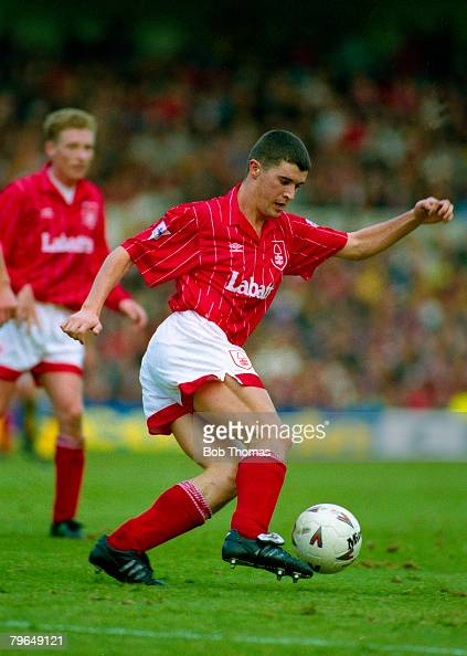 17th October 1992 FA Premier League Nottingham Forest 0 v Arsenal 1 Roy Keane Nottingham Forest Roy Keane was transferred to Manchester United in...