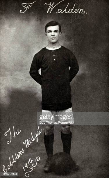 1910 Frederick 'Fanny' Walden Northampton Town Fanny Walden one of the smallest footballers at 5 feet 2 inches known as the 'Cobblers Midget' and...