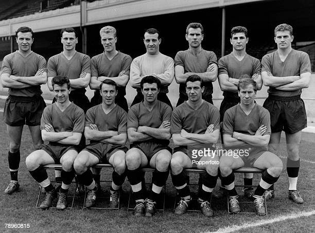 1962 The 1961 England team at Highbury Back rowlr Jimmy Armfield Bobby Robson Ron Flowers Ron SpringettPeter Swan Mick McNeill Brian Miller Front row...