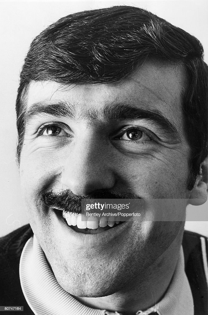 Sport Football. pic: 1967. Terry Venables, Tottenham Hotspur sporting a moustache.