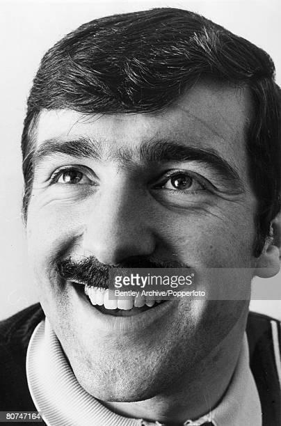 1967 Terry Venables Tottenham Hotspur sporting a moustache