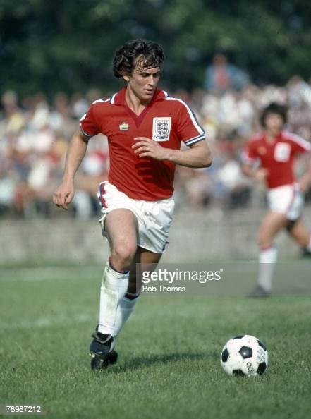 21 International Fashion Magazine You Ll Love: Sport. Football. Pic: 1979. Under-21 International