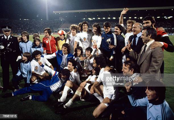 1980 European Cup Winners Cup Final in Brussels Valencia beat Arsenal 54 on penalties Valencia 1980 European Cup Winners Cup Champions
