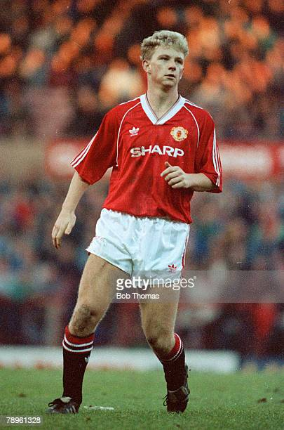 1993 Mark Robins Manchester United striker 19881992