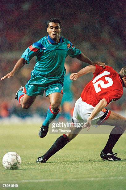 19th October 1994 Manchester United 2 v Barcelona 2 Romario Barcelona